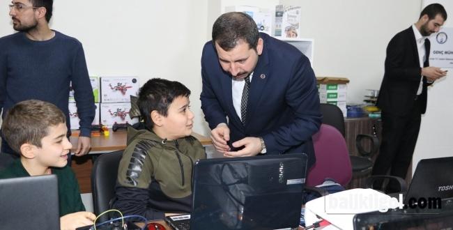 Karaköprü STEM ve Bilim Merkezi kursları devam ediyor