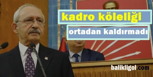 Kılıçdaroğlu: Diğer İşçilere Ne Veriyorsan Taşeron'da Vermek Zorundasın