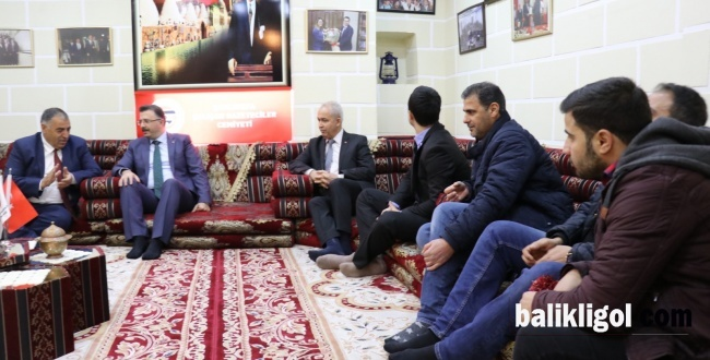 Şanlıurfa Cumhuriyet Başsavcısı Öztoprak'tan ŞUÇGAD'a Ziyaret