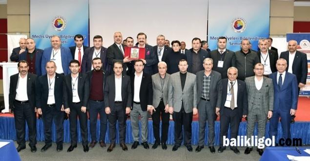TOBB Başkanı Hisarcıklıoğlu, Şutso Meclis Üyeleri İle Bir Araya Geldi