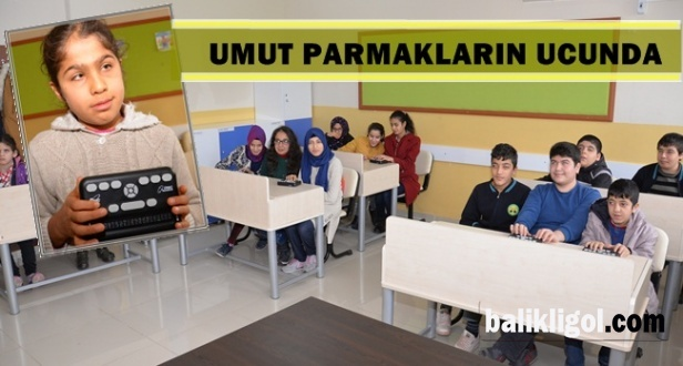Urfa'da Görme Engellilerin Umudu: Braille Okuma Cihazı