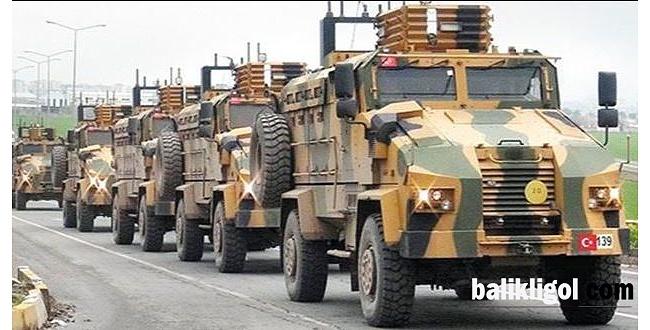Urfa'dan sınıra takviye devam ediyor