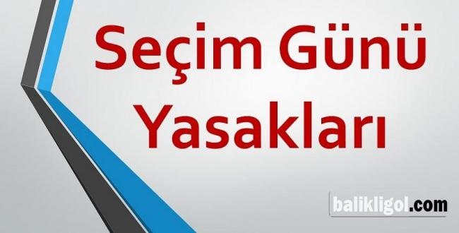 YSK 31 Mart Pazar günü yasaklarını açıkladı: Düğün bile yasak