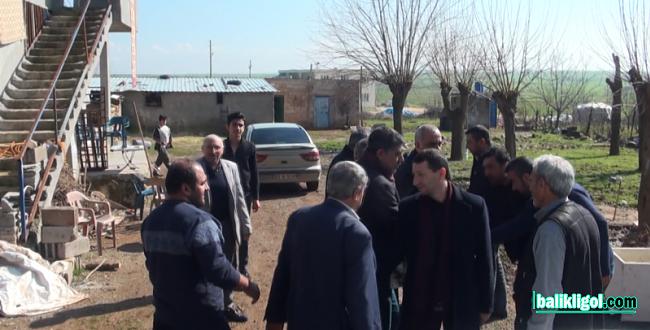 Başkan Bayık, kırsal mahalle sakinleriyle bir araya geldi