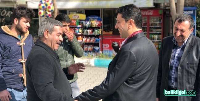 Esnaftan SP Adayı Mustafa Hekimoğlu'na yoğun ilgi