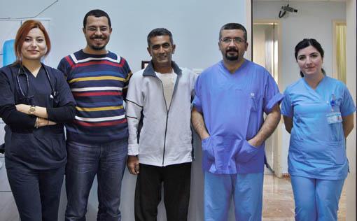 Şanlıurfa Araştırma Hastanesi şah damarı açtı