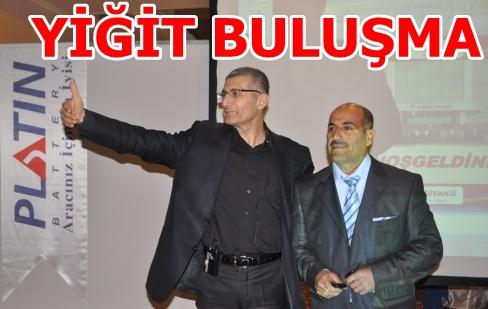 Türkiye'nin en büyük firmalarından Yiğit Akü Şanlıurfa'da toplantı düzenledi