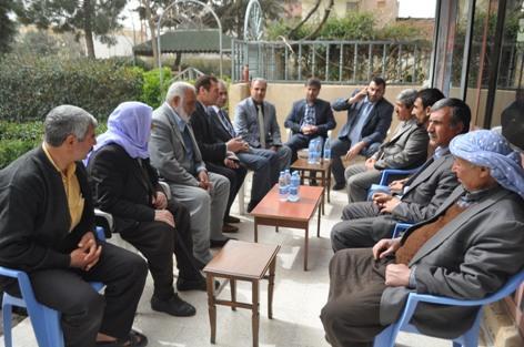 AK Partiden Eyüpkent ve Eyüpnebi muhtarlarına ziyaret