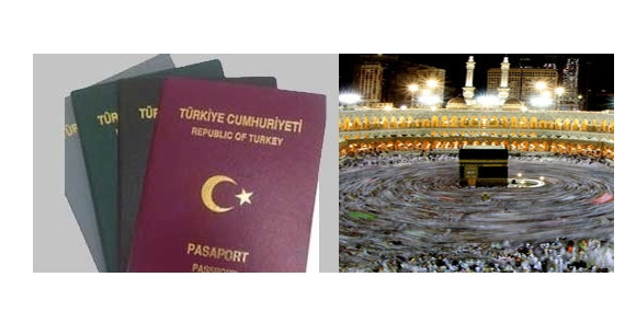 Hacılara pasaport şoku!