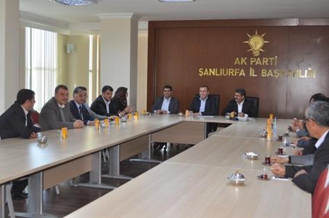 AK Parti Sosyal İşler Toplantısı Yapıldı