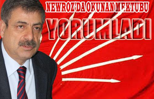 CHP'li Karataş, Öcalan'ın Barış Mesajı Yorumladı