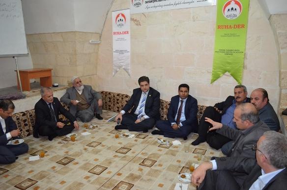 Milletvekili Emin Önen RUHA-DER'i ziyaret etti