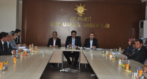 Milletvekili Önen ve Gök Yönetim Toplantısına Katıldılar