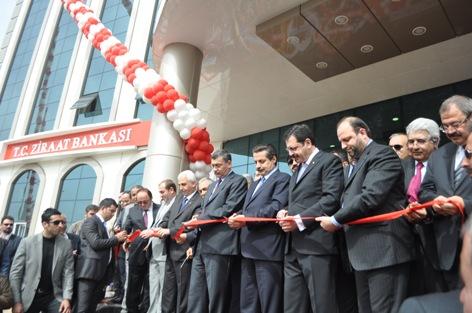 Bakan Çelik ŞUTSO binasını açtı VİDEO