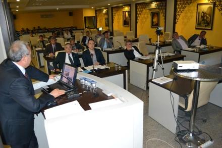 Fakıbaba Belediye Meclisi'ne 9 Yıllık Faaliyetlerini Anlattı