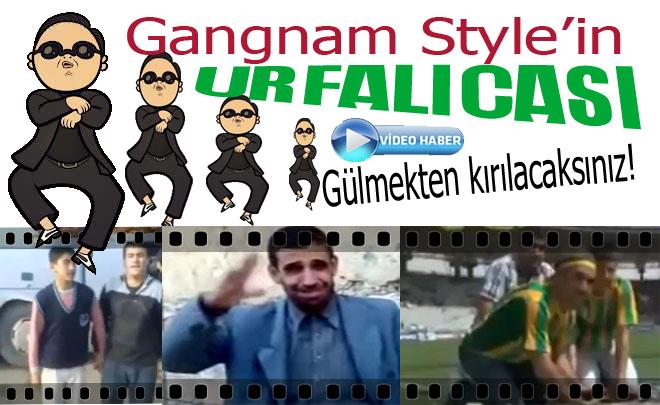 Bu da Gangnam Style'in Urfalıcası-VİDEO