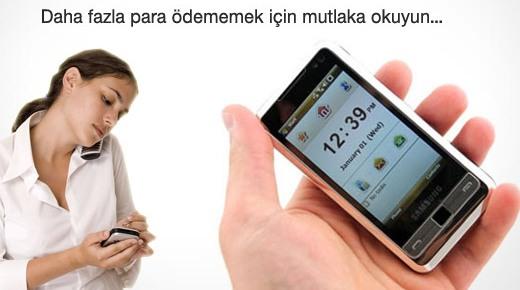 Cep telefonu kullananlar ödeyeceği miktarı kendisi seçiyor