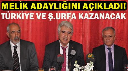 Sait Melik ŞUTSO başkan adaylığını açıkladı VİDEO