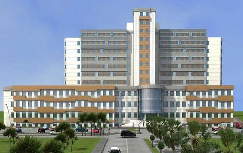 TOKİ, 400 Yataklı Eyyübiye Devlet Hastanesi için düğmeye bastı