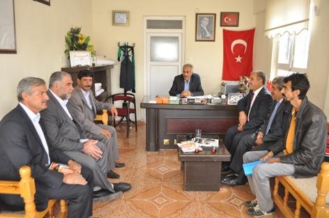 AK Partiden İmam Bakır ve İpekyol muhtarlarına ziyaret