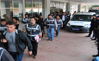 Şanlıurfa'da Dolandırıcılık Operasyonu; 22 kişi adliyede VİDEO