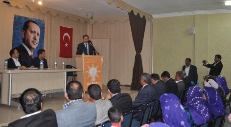 AK parti Harran ve Akçakale danışma meclisi toplantısını gerçekleştirdi