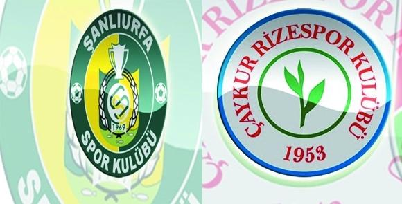 Şanlurfaspor Çaykur Rizespor 2-2