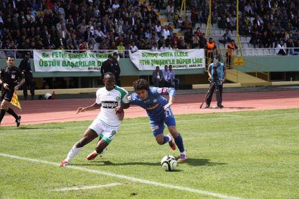 Şanlıurfaspor, Çaykur Rizespor'la 2-2 berabere kaldı