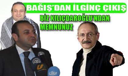 Egemen Bağış; Biz CHP liderinden razıyız! VİDEO