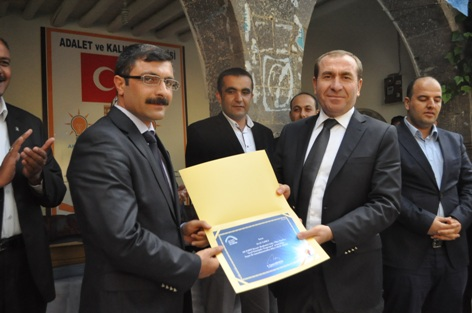 AK Parti Siverek Siyaset Akademisi sertifikaları verildi VİDEO