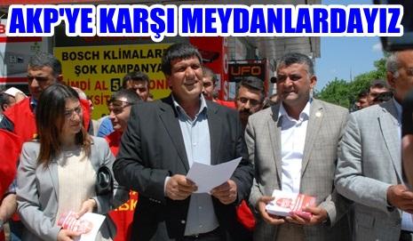 Eğitim Sen, AK Partiye karşı eylem yapacak