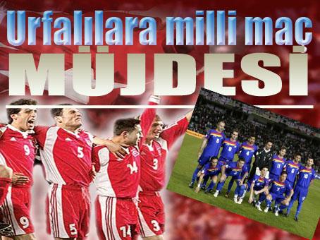 Demirören: Türkiye Andorra maçı Şanlıurfa'da oynanacak