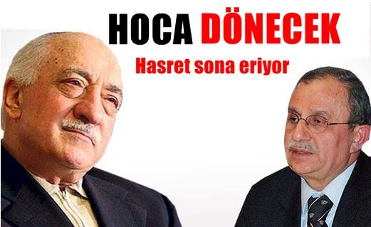 Fethullah Gülen Türkiye'ye dönecek ama?