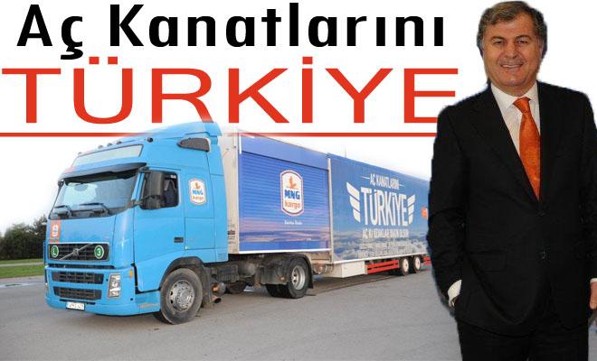 Aç Kanatlarını Türkiye Tırı Şanlıurfa'da