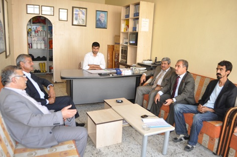 AK Partiden Kadıoğlu ve Mancı muhtarlarına ziyaret