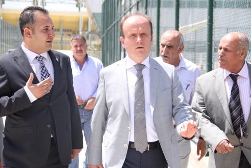 Gençlik ve Spor Bakanlığı Spor Genel Müdürü Mehmet Baykan Şanlıurfa'da