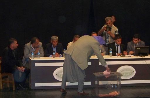 Viranşehir'de Köye hizmet götürme birliğinin seçimi yapıldı