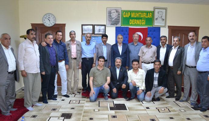 Fakıbaba'dan GAP Muhtarlar Derneği'ne Ziyaret