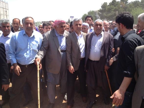 Suruç'ta Bozdağ, Akşam ve Karatay'ların kan davası barışla son buldu