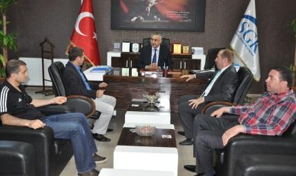 AK Partiden SGK Müdürü Kılıç'a ziyaret