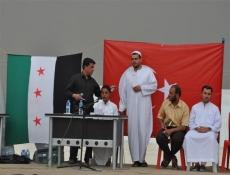 Çadır kentte Kur'an-ı Kerim-i güzel okuma yarışması