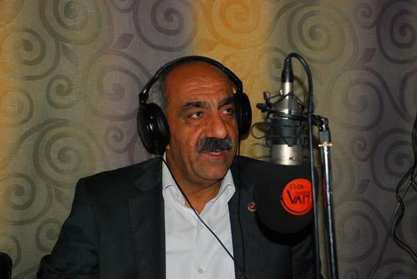 Başkan Bayık, Hilvan'ı Radyo Liva'da anlattı