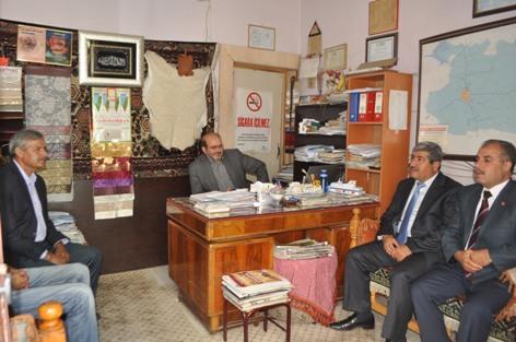 AK Partiden Köy Muhtarları Derneği ve Hızmalı muhtarına ziyaret