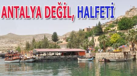 Burası Antalya değil Halfeti VİDEO