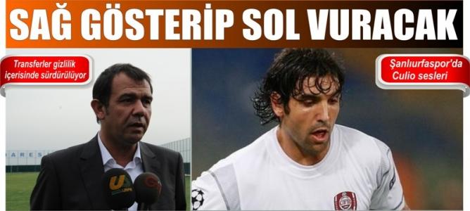 Şanlıurfaspor'da, Galatasaraylı Emanuel Culio sesleri