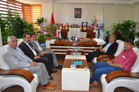 Fakıbaba'dan Başkan Kaya'ya hayırlı olsun ziyareti