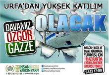 Mescid-i Aksa ve Mavi Marmara Yürüyüşü