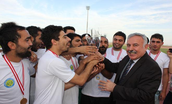 Harran'da Fakülteler Arası Futbol Turnuvası