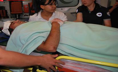 Şanlıurfa'da Askeri araç devrildi; 2 Yaralı VİDEO