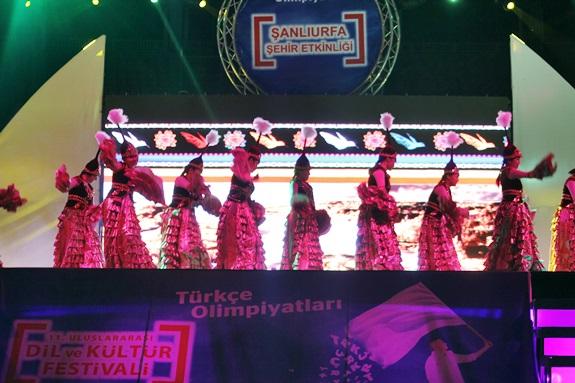 Türkçe Olimpiyatlarında Şanlıurfa molası VİDEO ve FOTOĞRAFLI